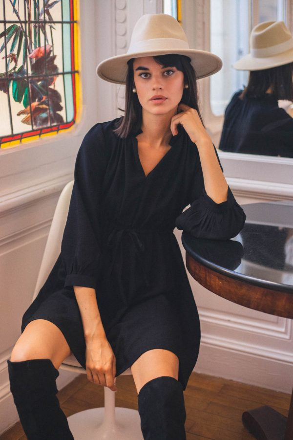Robe Simone noire